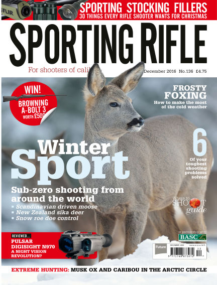 Sporting Rifle November 03, 2016 00:00
