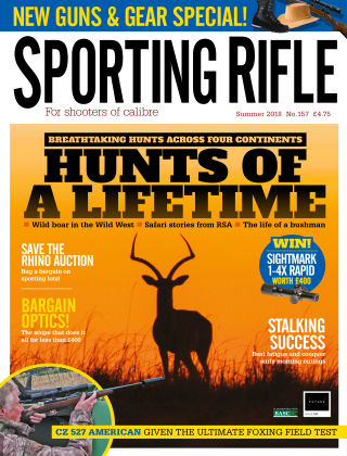 Sporting Rifle Summer 2018
