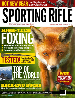 Sporting Rifle September 2018