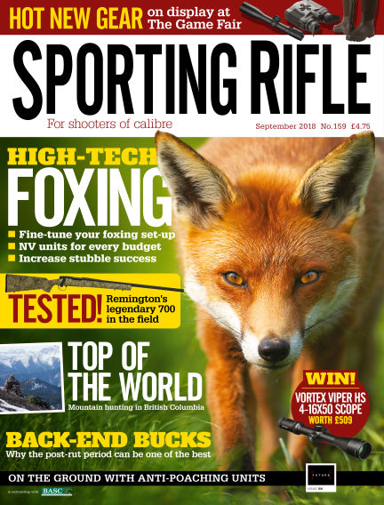 Sporting Rifle August 23, 2018 00:00