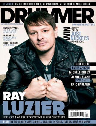 Drummer March 2015
