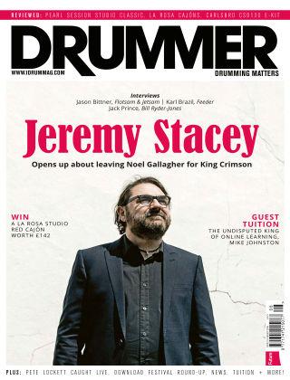 Drummer August 2016