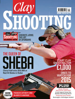 Clay Shooting April 2015