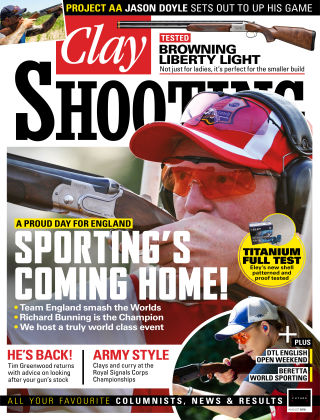 Clay Shooting August 2018