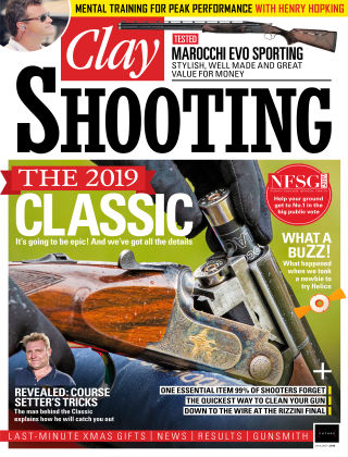 Clay Shooting January 2019