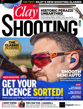 Clay Shooting March 2020