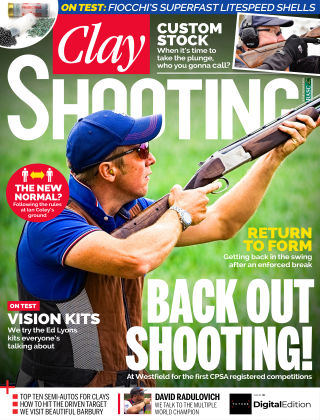 Clay Shooting August 2020