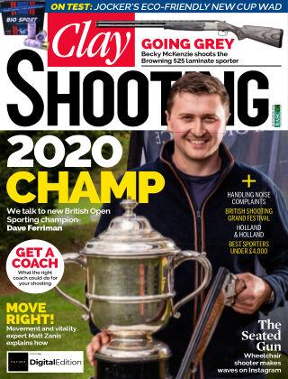 Clay Shooting November 2020