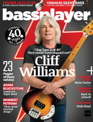Bass Guitar December 2020