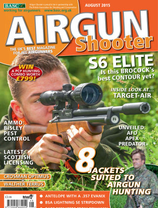 Airgun Shooter August