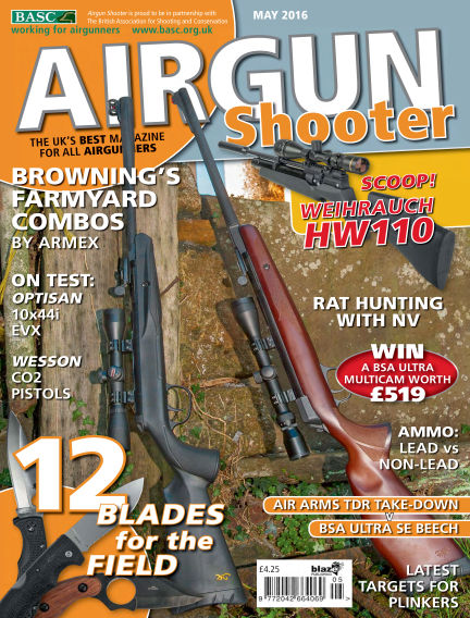 Airgun Shooter March 25, 2016 00:00