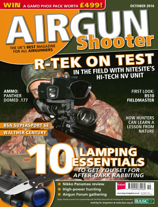Airgun Shooter October 2016