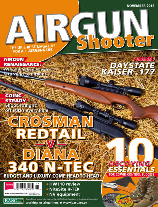 Airgun Shooter November 2016