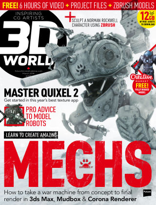 3D World March 2016