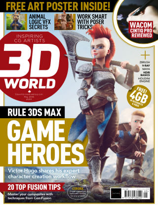 3D World May 2018