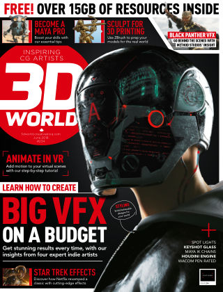 3D World June 2018