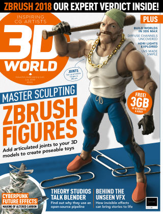 3D World July 2018