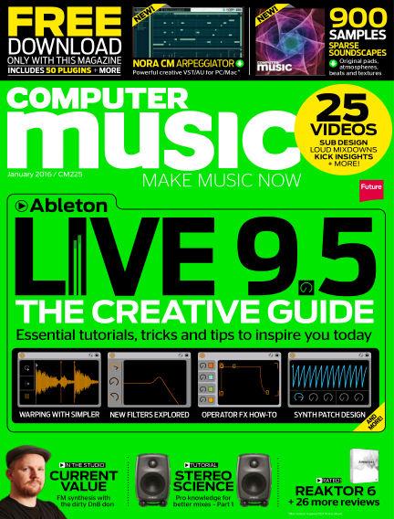 Computer Music December 02, 2015 00:00