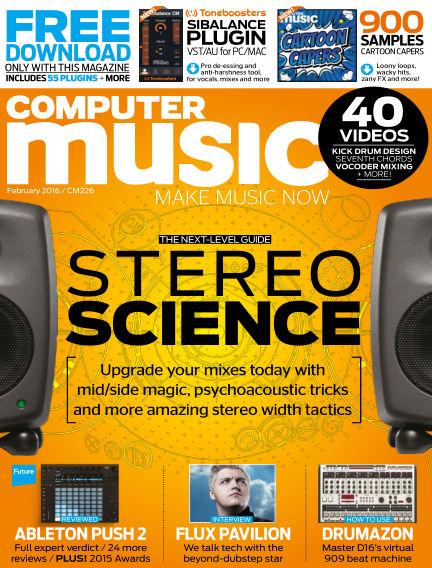 Computer Music December 30, 2015 00:00