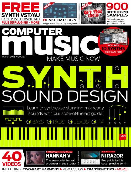 Computer Music January 27, 2016 00:00