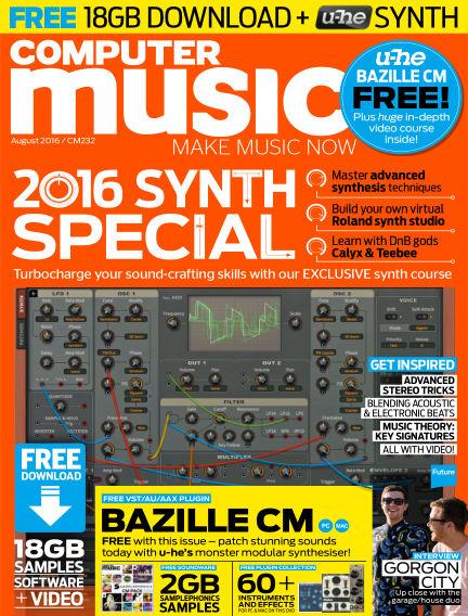 Computer Music June 15, 2016 00:00