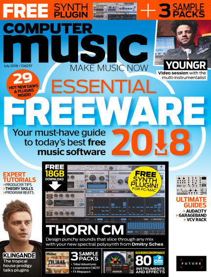 Computer Music May 16, 2018 00:00