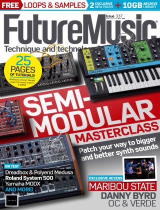Future Music Issue 337