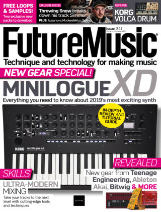 Future Music Issue 341