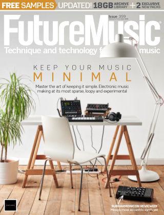 Future Music Issue 359