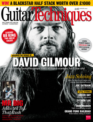 Guitar Techniques August 2015