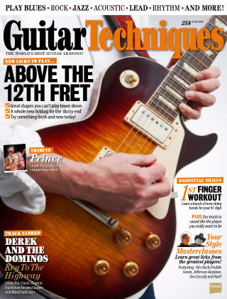 Guitar Techniques July 2016