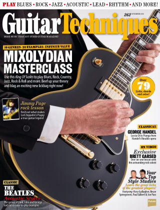Guitar Techniques November 2016