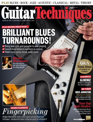 Guitar Techniques May 2017