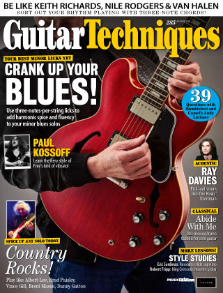 Guitar Techniques Aug 2018