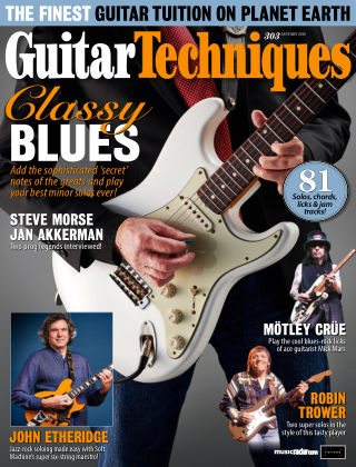 Guitar Techniques Issue 303