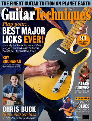 Guitar Techniques Issue 306