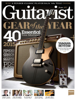 Guitarist January 2016