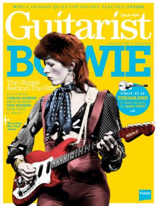 Guitarist March 2016
