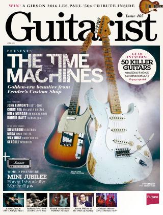 Guitarist April 2016