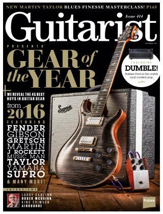 Guitarist December 2016