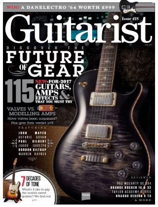 Guitarist April 2017