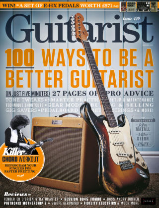 Guitarist Issue 429