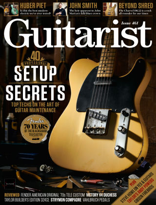 Guitarist August 2020