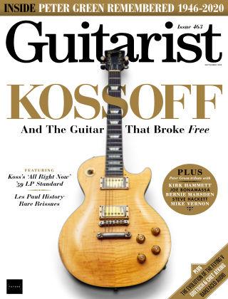 Guitarist September 2020