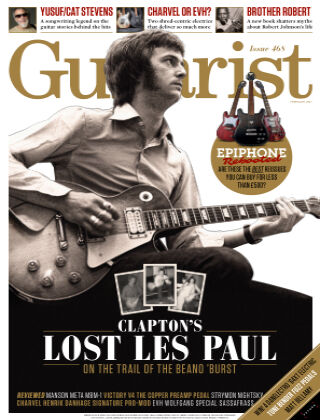 Guitarist February 2021