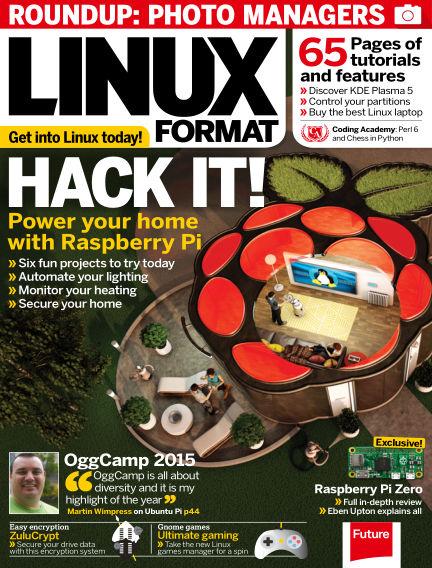 Linux Format December 22, 2015 00:00