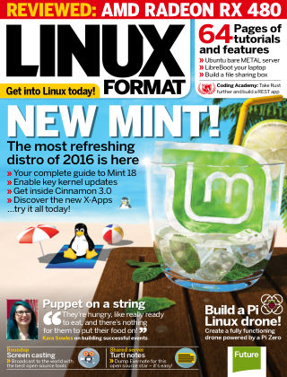 Linux Format Summer 2016