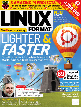 Linux Format Issue 257