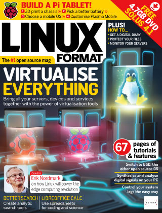 Linux Format Issue 261