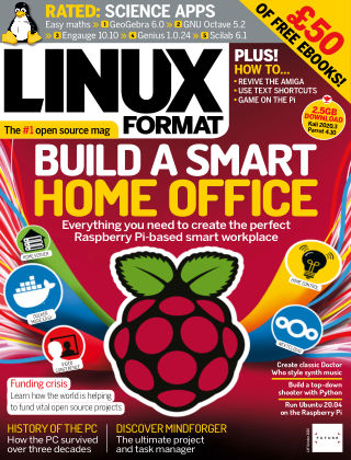 Linux Format Issue 268